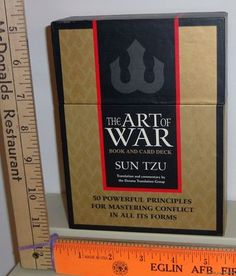 My playbook.......    The Art of War by Sun-Tzu (2003, Other, Mixed media product) Book & Card Deck