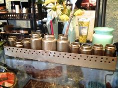 great use for old pill bottles and plastic wrap boxes! Pill Bottles, New Uses, Plastic Wrap, Pen Holders, Diy Gifts, Creative Ideas, Jars, Repurposed, Families