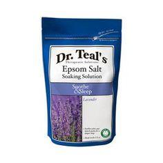 Teal's Epsom Salt Soaking Solution Relax & Relief (for the bath) Epsom Salt For Hair, Salt Hair, Lavender Scent, Epsom Salt Cleanse, Epsom Salt Foot Soak, Natural Face Moisturizer, Restless Leg Syndrome, Bath Soak, Lavender
