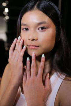 The Negative Space Nails at Charlotte Ronson Spring 2015 - Beauty Editor   Celebrity Beauty Secrets e50d7f3d332bd