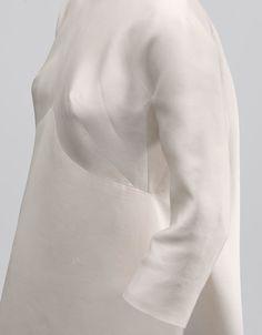 Balenciaga - NOVIAS - CBM 12.2004, Ivory gazar, 1968, Cristobal Balenciaga Museoa