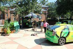 Prius #ToyotaGreenInitiative at Spelman on the #GreenCampusTour