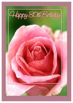 Happy 80th Birthday, Birthday Celebration, Valentine Day Cards, Valentines Diy, Happy Anniversary, Anniversary Cards, Easy Diy Valentine's Day Cards, Lucky To Have You, Thinking Of You