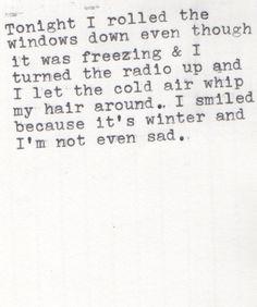 Roll down the window!! // C'est toi pour moi Moi pour toi dans la vie