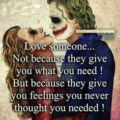 Discover and share Harley Quinn And Joker Quotes. Explore our collection of motivational and famous quotes by authors you know and love. Madly In Love, My Love, Citations Film, Joker Und Harley Quinn, Image Citation, My Sun And Stars, Loving Someone, My Guy, Relationship Quotes