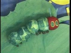 The Very Hungry Caterpillar story which I made at college. ***You might want to fast forward through the colour bars and clock! Literacy Games, Kindergarten Literacy, Preschool Activities, Book Activities, Preschool Crafts, Food Crafts, Hungry Caterpillar Party, Spring Theme, Blended Learning
