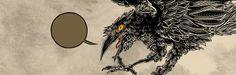 Corvo de Grampá em Mesmo Delivery #comics http://brontops.blogspot.com.br/2009/02/zerografia.html