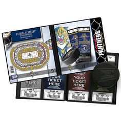 Florida Panthers Ticket Album, Multicolor