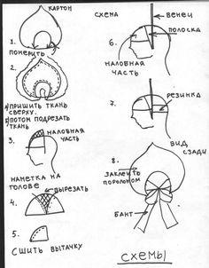 Comment faire une tiare russe? making a Kokoshnik