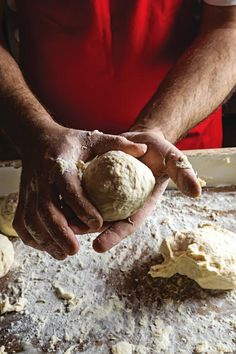 Pasta Da Pizza (Naples-Style Pizza Dough) by Saveur. The secret to making this pizza dough is to let it slowly rise in the refrigerator for 48 hours—that's what gives it its deep flavor and tender structure. Pizza Napolitaine, Flatbread Pizza, Good Pizza, Perfect Pizza, Empanadas, Cookies Subway, Neapolitan Pizza Dough Recipe, Naples Pizza, Savory Tart
