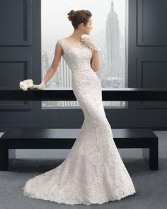 Rizzo vestido de novia two Rosa Clara
