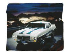 """1969 Pontiac Firebird Trans Am Photo Blanket 50 x 60"""" or 60 x 80"""" – GMPhotoGifts.com"""