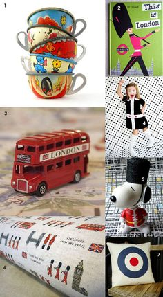 London-inspired mood board