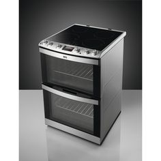 AEG 41102IU-MN Electric Cooker with Induction Hob - Stainless Steel