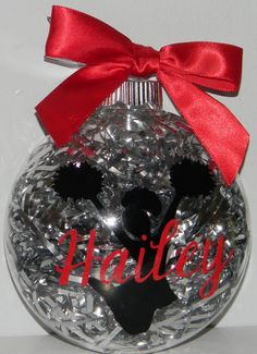 Personalized Christmas Ornament Cheerleader by dreamingdandelions, $7.00