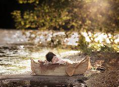Canoe Prop DOUBLE SIDED Boat Prop Newborn by MrAndMrsAndCo on Etsy