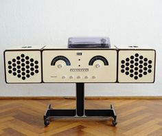 1960s Brionvega RR 126 audio system on eBay