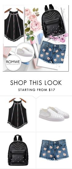 """4#Romwe"" by fatimka-becirovic ❤ liked on Polyvore featuring Sephora Collection and Karlsson"