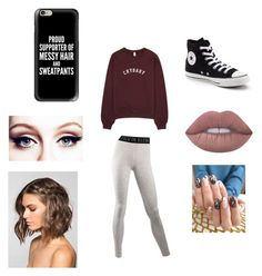 """""""Untitled #180"""" by fashionisbae12 on Polyvore featuring Calvin Klein, Converse, Casetify and Lime Crime"""