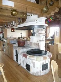 As Seen on TV Indoor Grill Black - Ofen Weiss More interested in design for outdoor kitchen*** Old Kitchen, Rustic Kitchen, Kitchen Decor, Kitchen Ideas, Kitchen Walls, Indoor Grill, Outdoor Kitchen Design, Interior Design Living Room, Built In Grill