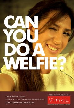 Have you ever taken your Welfie? Send us a selfie that shows you winking & #Win exciting prizes. #ContestAlert