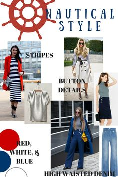Spring Style: Nautical Trend