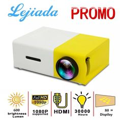 Mini Projector for Movies From Millennials Merchandise Small Projector, Movie Projector, Portable Projector, Led Projector, Projector Price, Usb, Sony Ps4, Bluetooth, Glow