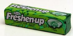Freshen-up Gum ~ This was my favorite gum as a kid!  I should order some and see if it still tastes as good.
