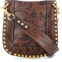 cd5700ac6368 Isabel Marant embossed crossbody bag (32.685 RUB) ❤ liked on Polyvore  featuring bags