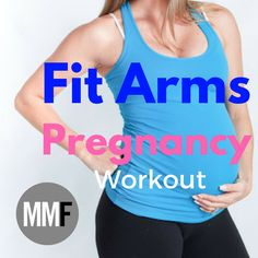 Pregnancy Workout For Fit Arms.  Home workout.