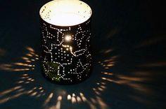 latas luminárias