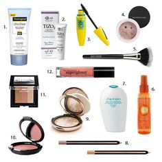 12 Makeup Must-Haves for Sun-Kissed Summer Beauty | Brit + Co.