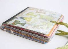 How to make an art journal. I would love to do this for a book of quotes, or a book about accomplishing things on my bucket list.