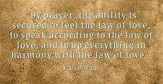 Prayer and love - a powerful combination...