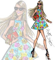 Editor-at-large for Vogue Japan Anna Dello Russo by Hayden Williams #TheFashionPack