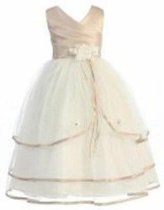 Wonder Girl Grace Communion and FlowerKidsDresses@Accs Sizes4to14WomensClothing