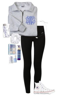 A fashion look from August 2017 featuring quarter zip hoodie, NIKE and white hi tops. Browse and shop related looks. Cute Middle School Outfits, Cute Lazy Outfits, Cute Outfits For School, Sporty Outfits, Athletic Outfits, Outfits For Teens, Trendy Outfits, Boot Outfits, Fall College Outfits