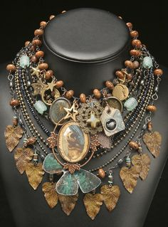 Lovely work from Louise McClure Jewelry ... perfect for fall !