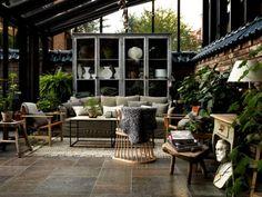 Scandianvian interior design, conservatory