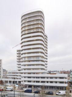 New'R – stephane chalmeau New R, Construction, Condominium, Pisa, Tour, Skyscraper, Arch, Multi Story Building, Pablo Neruda