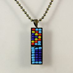Upcycled Beadwork Necklace by XOHandworks $12