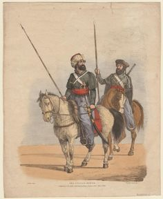 The Cossack Horse. (1822) By Henry Alken, published by S and J Fuller. From the Anne S.K. Brown Military Collection
