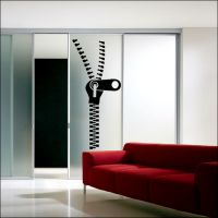 Wall stickers are a great way to alter the feel of a room. At Bouf there's a vast array of vinyl wall art stickers, transfers & decals to choose from Sliding Door Curtains, Sliding Panels, Wall Stickers, Wall Decals, Panel Room Divider, Vinyl Wall Art, Silhouette Design, Diy Furniture, Interior Design