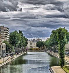 Canal Saint-Martin, #Paris