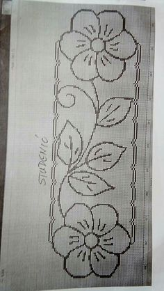 Discover thousands of images about Atik Santoso Hand Embroidery Videos, Hand Embroidery Flowers, Hand Embroidery Stitches, Ribbon Embroidery, Cross Stitch Embroidery, Machine Embroidery, Cross Stitch Borders, Cross Stitch Patterns, Border Embroidery Designs