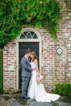 Bride + Groom Charleston SC Cottage on the Creek Wedding // Dana Cubbage Weddings // Charleston SC Wedding Photography