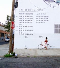 "war kills people from the inside out sometimes    ""In war, there are no unwounded soldiers.""  This is sad. A tally of  service members who've committed suicide compared to those killed. Tragic in every way."