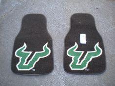 #USF car mats