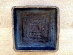 Danish Pottery, H. Østerberg Square Bowl, 60's