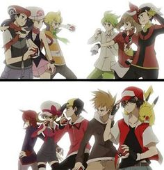 Pokemon protagonists and rivals